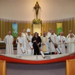 Peterborough, ON: Leaders at the ecumenical worship service on January 21, hosted by St Anne's Roman Catholic Church.
