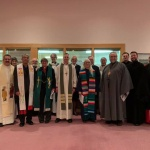 Winnipeg, MB: Worship leaders at the January 19 city-wide ecumenical celebration at the Epiphany Lutheran Church.