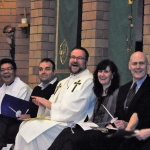 Fr Joseph Nguyen (St Joseph's Catholic Church), Pastor Grant Vander Hoek (Mission Hills Community Church), Rev Tim Bowman (St Andrew's United Church), Rev Rebecca Simpson (St Paul's Presbyterian Church), Pastor Ken Critchley (Bethel Pentecostal Assembly), Deacon Connie Wilkes (All Saints Anglican Church)
